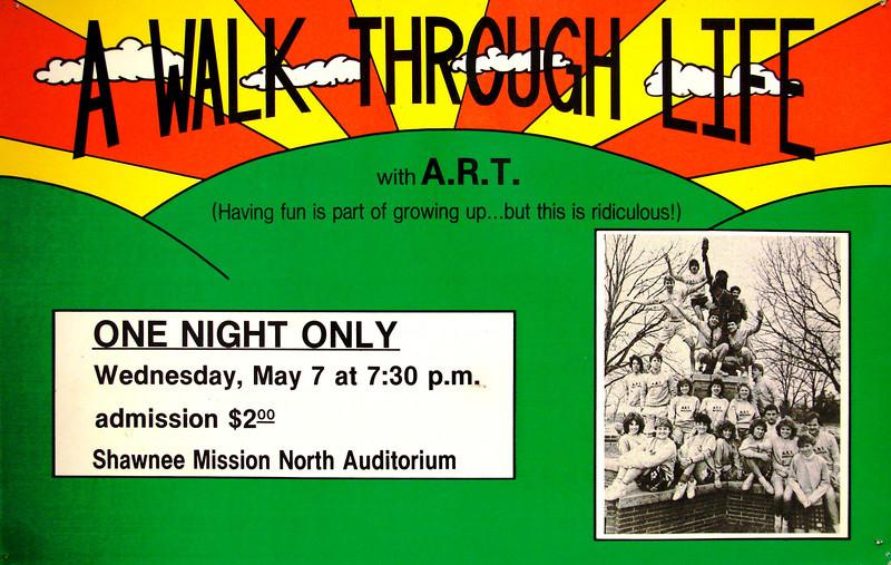 1983-1984 ART spring A Walk Through Life