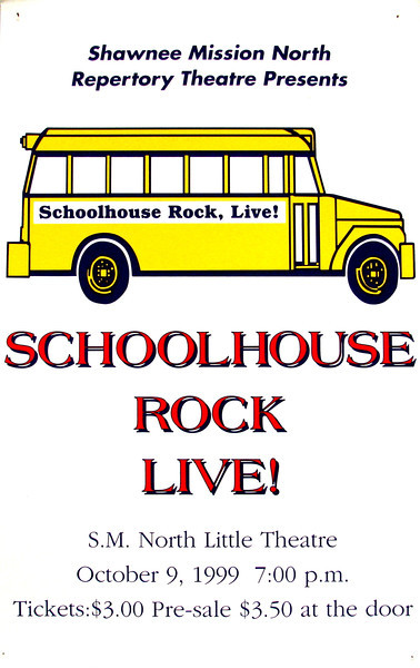 1998-1999 Rep Theatre Schoolhouse Rock Live