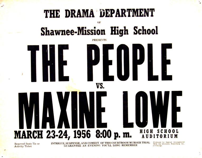 1955-1956 The People vs  Maxine Lowe