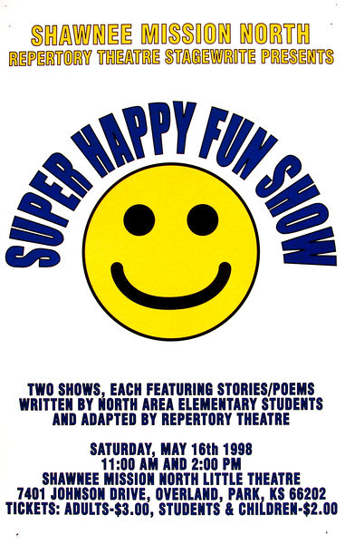 1997-1998 Rep Theatre Super Happy Fun Show