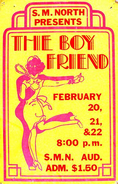1973-1974b The Boyfriend