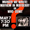 1986-1987 ART spring Murder We Wrote Mayhem in Mayberry or Who Dunit