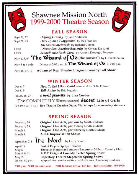 1999-2000 A Season Poster