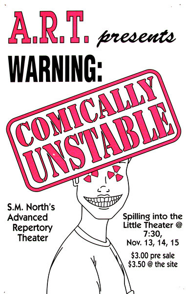 1996-1997 ART fall Comically Unstable