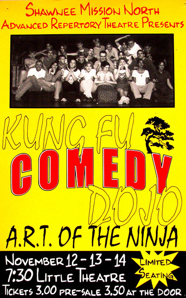 1997-1998 ART fall Kung Fu Comedy Dojo