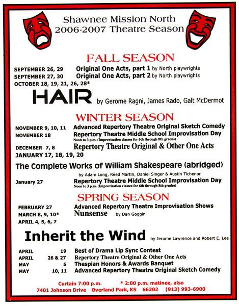 2006-2007 A Season poster