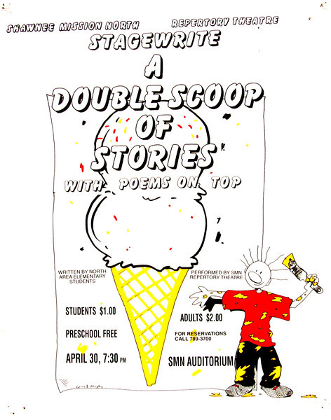 1993-1994 Rep Theatre A Double Scoop of Stories with Poems on Top