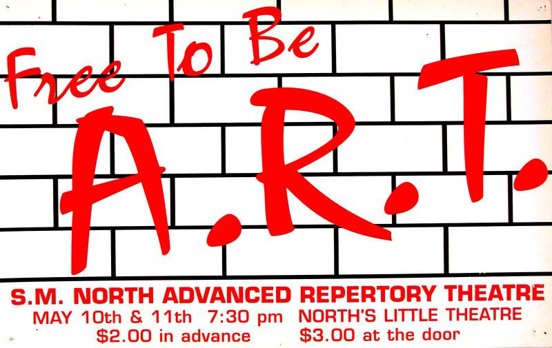 1988-1989 ART spring Free To Be
