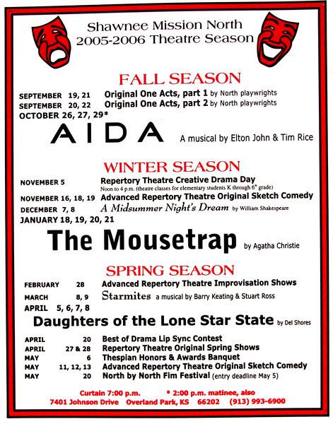 2005-2006 A Season poster