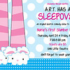 2013-2014h ART spring Has a Sleepover