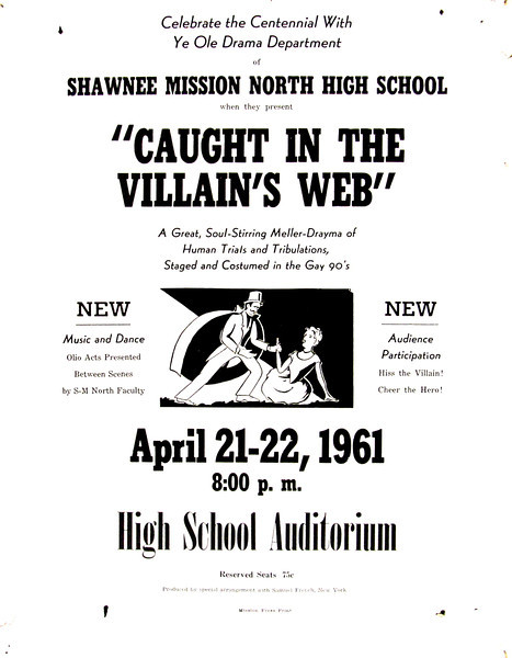 1960-1961b Caught in the Villain's Web