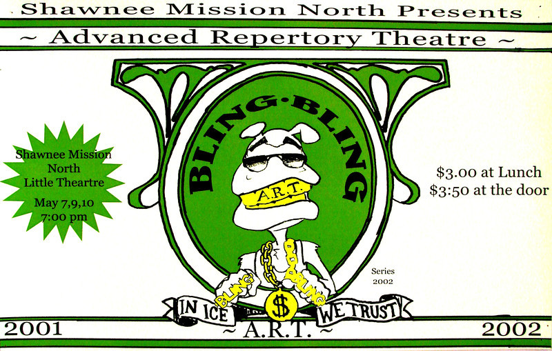 2002-2003 ART spring Bling Bling In Ice We Trust
