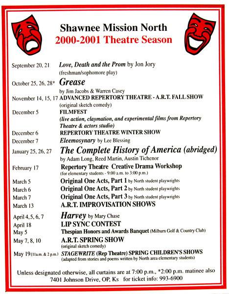 2000-2001 A Season poster