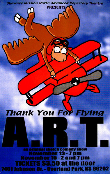 2003-2004 ART fall Thank You For Flying