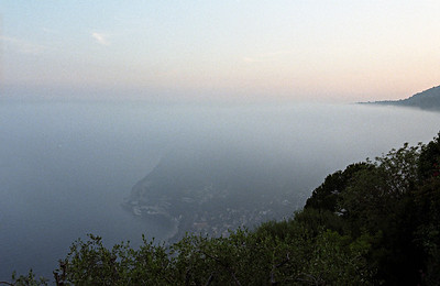 The view from Chateau d'Eze.