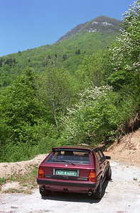 My beloved Lancia Int 16v.