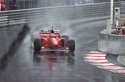 It was a very wet race.