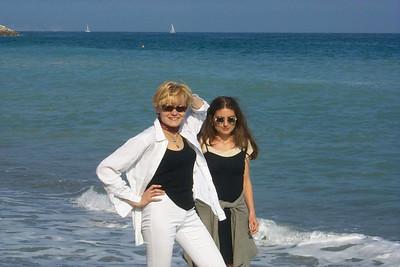 Christina and Milena.