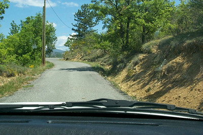 It's just impossible to drive slow over this kind of roads.