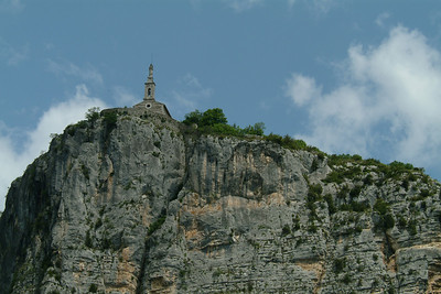 Church on the rocks.