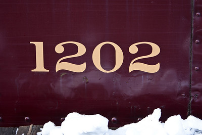 Our wedding anniversary is 12.02.79 so we liked seeing this number on the train...