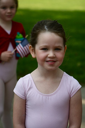 SPF YMCA Ballet Class in Memorial Day Parade