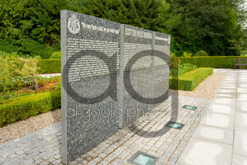 "Scottish Police memorial Trust service  ,2 September 2015, Picture: Al Goold ( <a href=""http://www.algooldphoto.com"">http://www.algooldphoto.com</a>)"