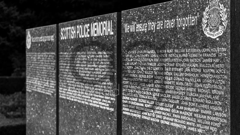"Scottish Police memorial Trust service  ,2 September 2015, Picture: Al Goold ( <a href=""http://www.algooldphoto.com"">http://www.algooldphoto.com</a>)"