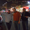 6th Street Friday Night; Geoff, Jason, Chris