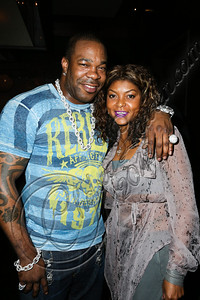 LOS ANGELES, CA - JUNE 29:  Rapper Busta Rhymes (L) attends Steve Rifkind's Pre-BET Awards celebration honoring BET nominee Melanie Fiona at Nobu on June 29, 2012 in Los Angeles, California.  (Photo by Chelsea Lauren/WireImage)