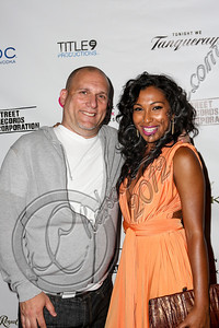 LOS ANGELES, CA - JUNE 29:  Music entrepreneur Steve Rifkind (L) and recording artist Melanie Fiona attend Steve Rifkind's Pre-BET Awards celebration honoring BET nominee Melanie Fiona at Nobu on June 29, 2012 in Los Angeles, California.  (Photo by Chelsea Lauren/WireImage)