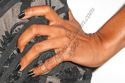 LOS ANGELES, CA - JUNE 29:  Recording artist Letoya Luckett (nail detail) attends Steve Rifkind's Pre-BET Awards celebration honoring BET nominee Melanie Fiona at Nobu on June 29, 2012 in Los Angeles, California.  (Photo by Chelsea Lauren/WireImage)