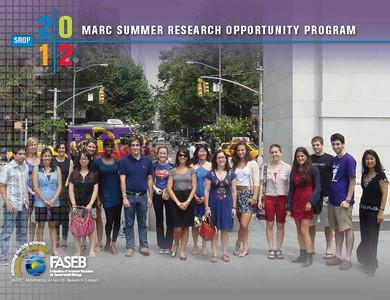 FASEB MARC SROP 2011: New York University.  SROP Students: Manuel Amaya, Ellen Degennaro and Olivia Moody.  SROP Mentor: Dr. Chiye Aoki.