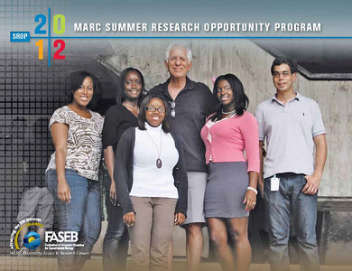 FASEB MARC SROP 2011:  University of Miami.  SROP Students: Dorian Ball, Rafael Fernandez, Charne Thomas and Cindi Ann Williams.  SROP Mentors: Dr. Erin Kobetz, Dr. Richard Myers, Dr. Samita Andreansky and Dr. Geoffrey Stone.