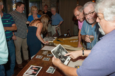 Paul Sachetti - holding photo - Larry's old boss