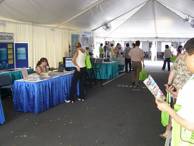 The exhibits at SSR 2008 in Kailua-Kona, Hawai'i (May)
