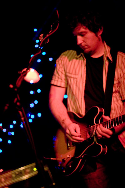 The intense and passionate New York-by-way-of-Dublin band Stand showcased their new album _Travel Light_ at Manhattan's Mercury Lounge on Thanksgiving weekend of 2006.
