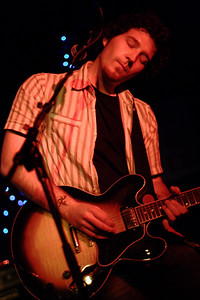 The intense and passionate New York-by-way-of-Dublin band Stand showcased their new album _Travel Light_ at Manhattan's Mercury Lounge on Thanksgiving weekend of 2006.  © Shams Tarek (www.shamstarek.com)