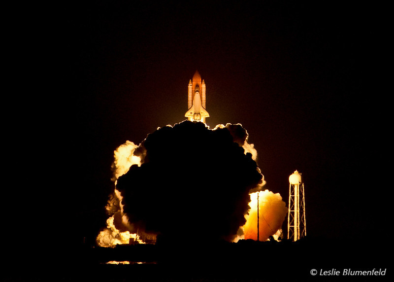 Liftoff of Shuttle Discovery