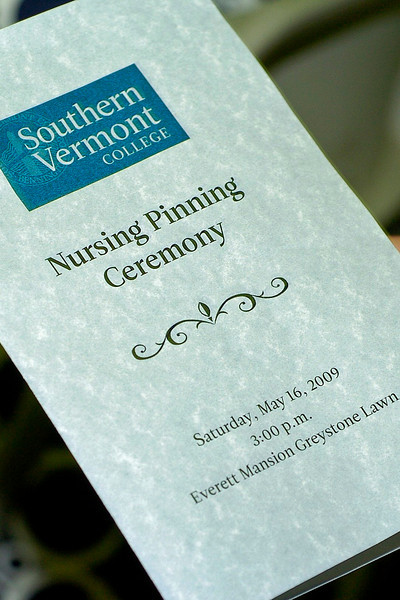 Nursing Pinning Ceremony Program