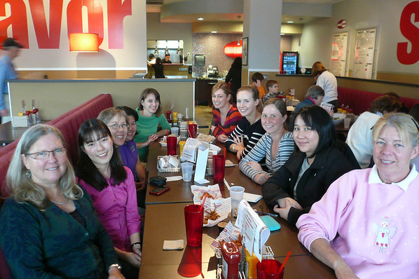 FY13 SWE-SD Networking Lunch