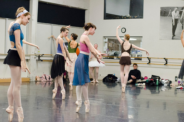SacBallet Swan Lake Rehearsal