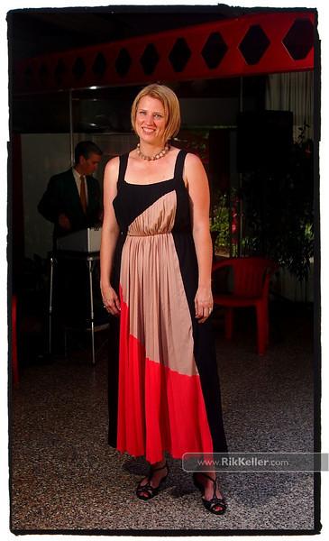 Jenny wins best outfit award.