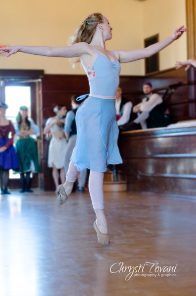 Sacramento Ballet Preview Performance of Peter Pan at McKinley Library