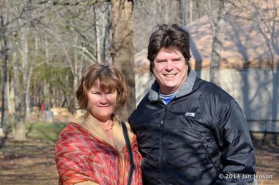 Maria and Eric Stine