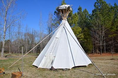 Teepee at Sacred Grove Retreat Center