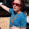 P4303817<br /> Catherine Enfield, one of the SactoMoFo organizers, directs traffic