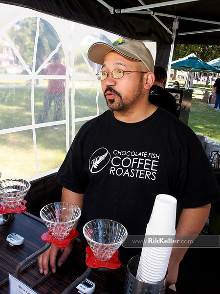 "P4303834<br /> Armando Herman of Chocolate Fish Coffee (Sacramento)<br />  <a href=""http://www.chocolatefishcoffee.com"">http://www.chocolatefishcoffee.com</a>"