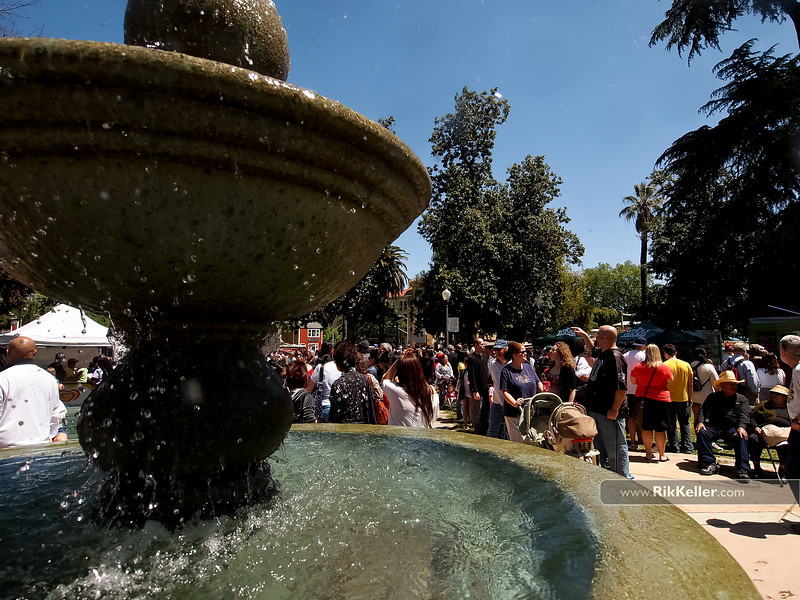 """P4303994<br /> The fountain at Fremont Park helped to keep visitors cool<br />  <a href=""""http://www.fremontpark.net"""">http://www.fremontpark.net</a>"""