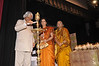 Dr APJ Abdul Kalam lights the diya as Dr Radhike Khanna and Sr Gaitonde looks on